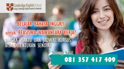 kursus bahasa inggris di malang untuk mahasiswa